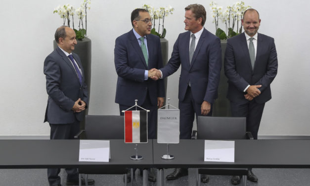 Strengthening of global production network: Mercedes-Benz Cars signs  Memorandum of Understanding for new car assembly in Egypt
