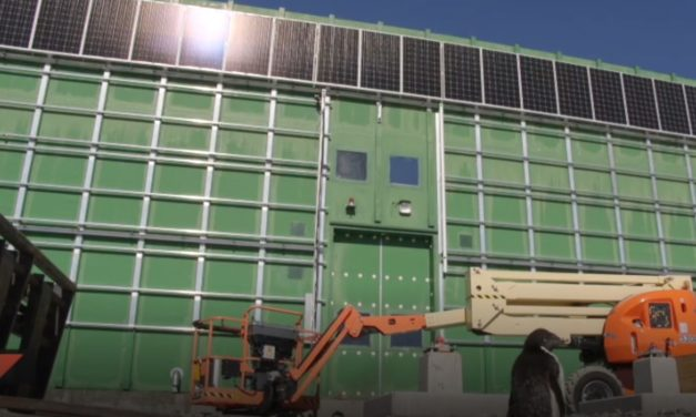 Masdar and Australian Antarctic Division collaborate to install first solar panel system at an Australian Antarctic research station