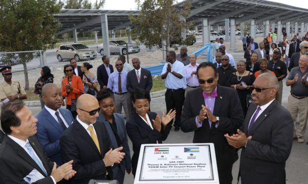 UAE inaugurates three major projects under US$50 million Caribbean Renewable Energy Fund