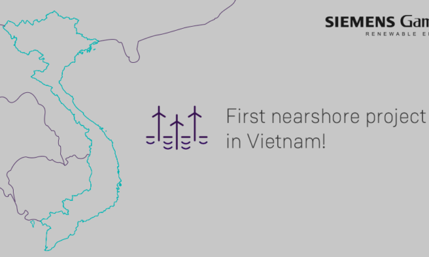 Siemens Gamesa will supply the SG 4.5-145 for its first nearshore project in Vietnam