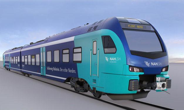 Stadler supplies 55 battery-operated FLIRT trains for the Schleswig-Holstein local transport association