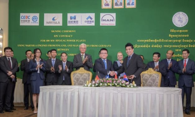 Wärtsilä's fast track delivery of a 200 MW engine power plant will help meet Cambodia's rapidly growing electricity demand