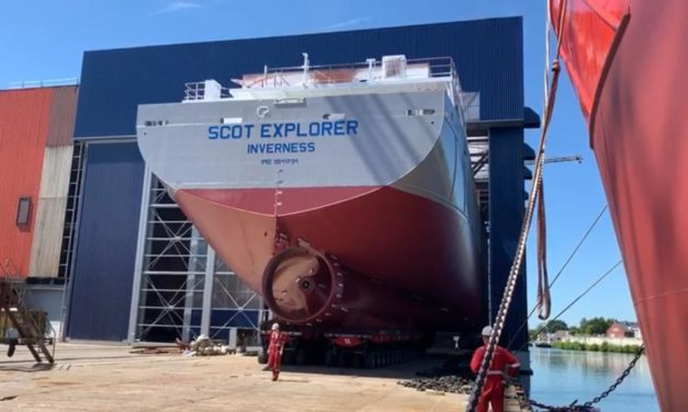 Scotline Marine Holdings Ltd orders third vessel from Royal Bodewes