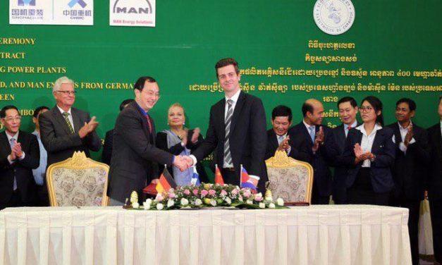Cambodia chooses MAN for new, major power plant