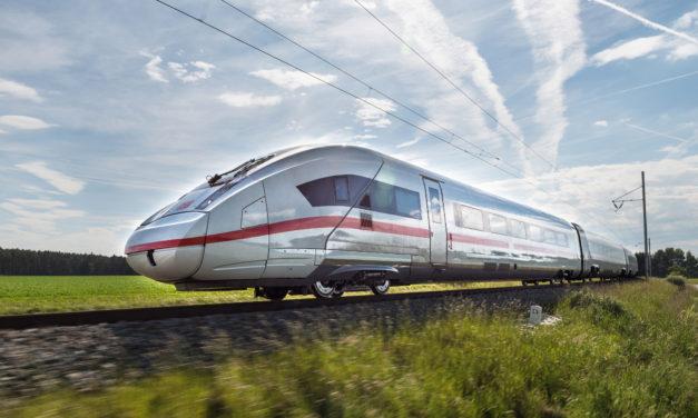 Siemens is building ICE 4 trains for Deutsche Bahn