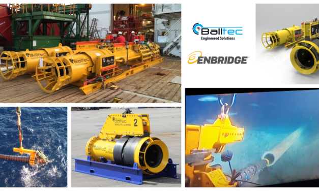 Balltec awarded contract by Enbridge for subsea pipeline recovery tools and PIG launchers