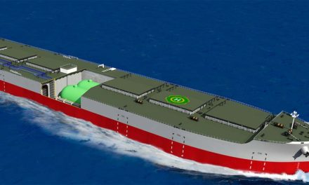 "DNV GL awards ""K"" Line and Namura Shipbuilding AIP for new LNG-fuelled ore carrier design"