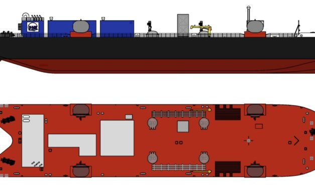 Fincantieri Bay Shipbuilding to build 5,400 cubic meter LNG barge for East Coast route
