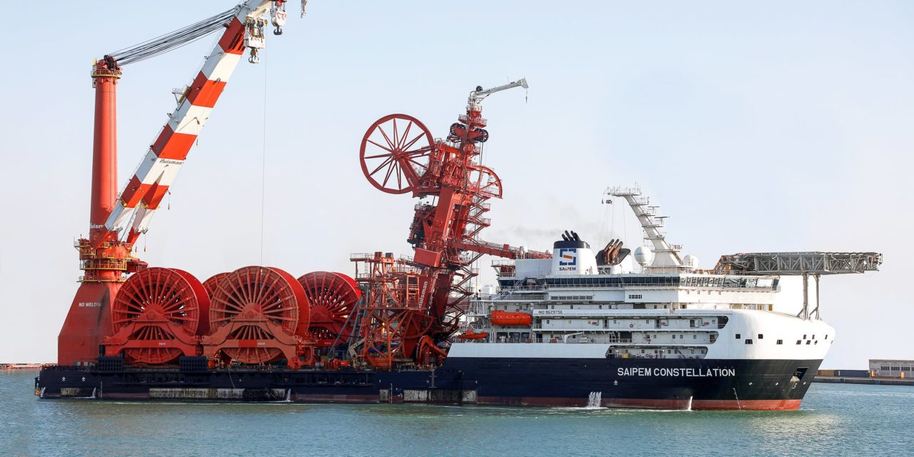 Saipem will open a spoolbase in the Gulf of Mexico