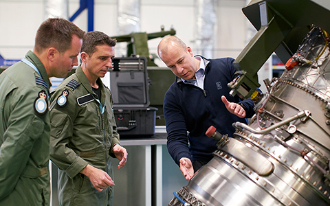 Rolls-Royce continues to support EJ200 engine for RAF's Typhoon fleet