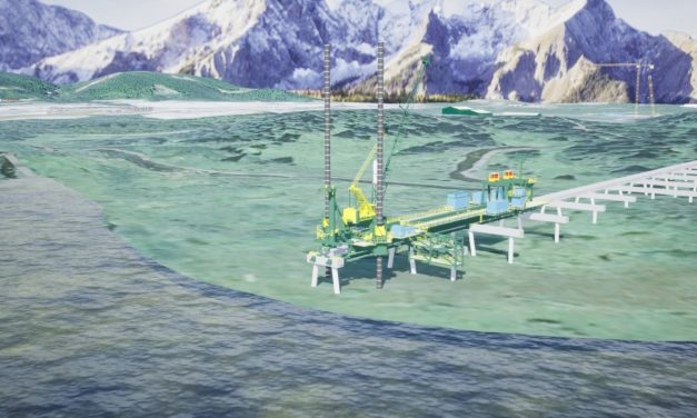 Clough awarded EPC contract for loadout line trestle for LNG Canada project
