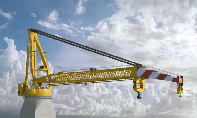 Huisman signs contract with Jan De Nul for 5,000MT Tub Mounted Crane (TMC)
