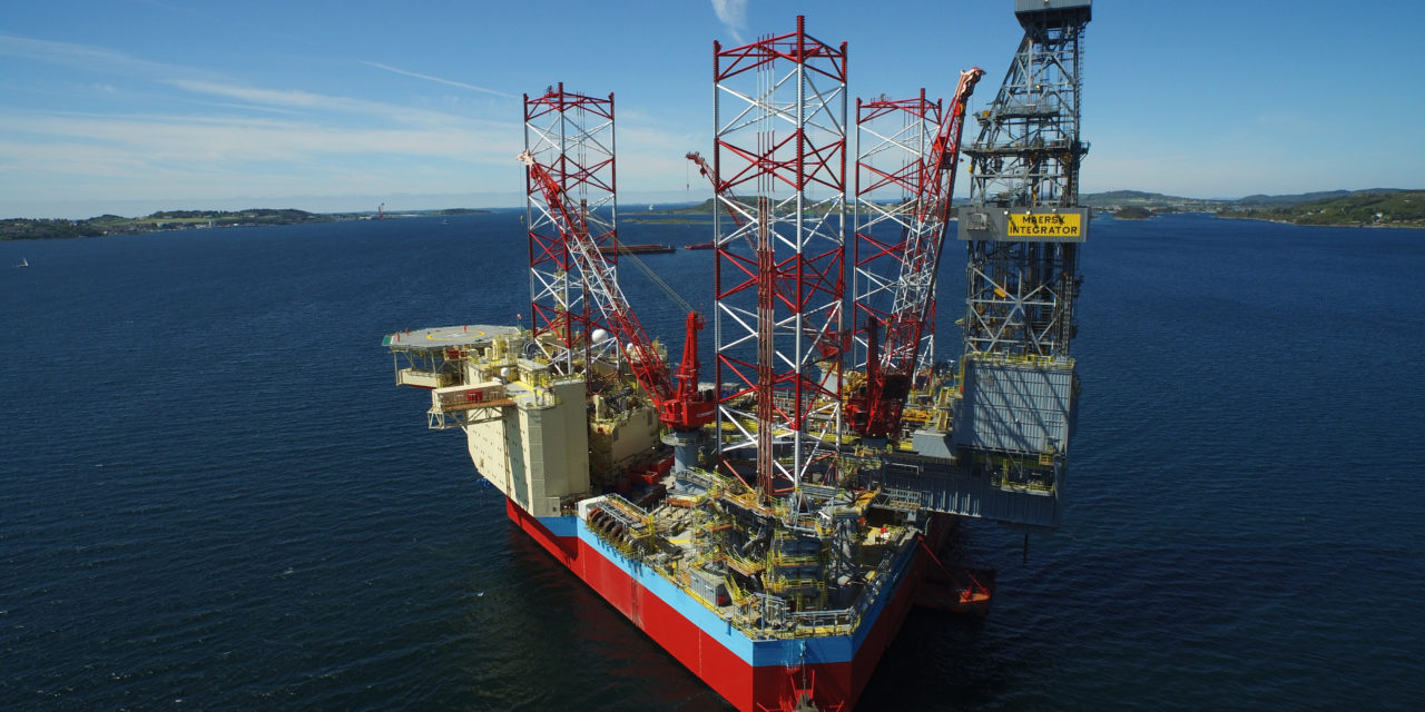Maersk Drilling secures one-well extension and low-emission upgrade for Maersk Integrator