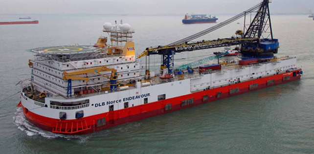Bareboat contract for DLB Norce Endeavour