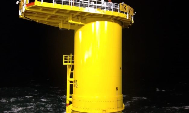 First foundation installed at Triton Knoll Offshore Wind Farm