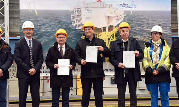Atlantique Offshore Energy and partners launch construction of Saint-Nazaire offshore wind farm electrical substation