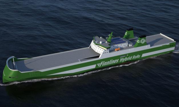 Three new Finnlines ships to go green with Wärtsilä Hybrid Systems