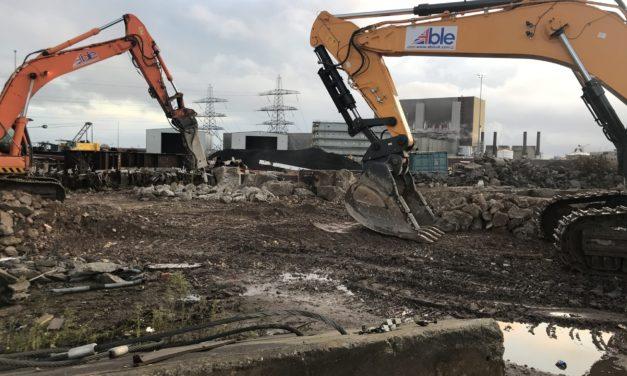 Able Seaton Port begins latest transformation into £multi-million Triton Knoll turbine base