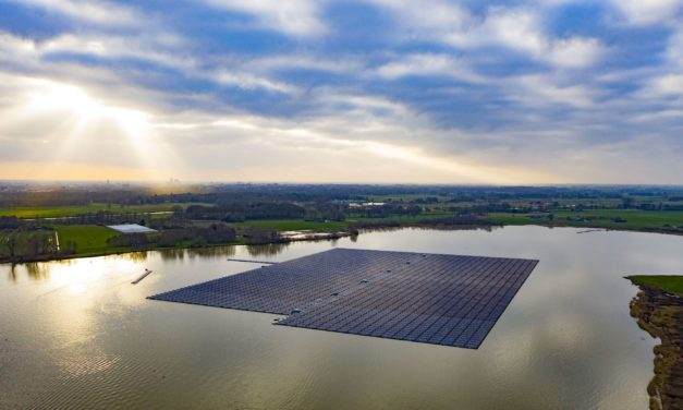 BayWa r.e. on track to construct Europe's largest floating solar farm in under 8 weeks