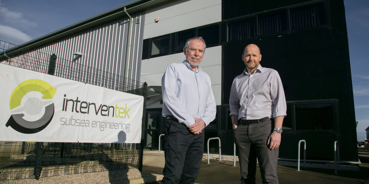 Interventek secures contracts in excess of £10M and relocates to new premises