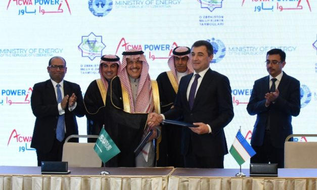 ACWA Power signs milestone agreements with Ministry of Energy of Uzbekistan
