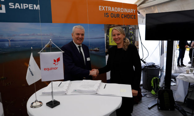 Saipem signs with Equinor a frame agreement for engineering services