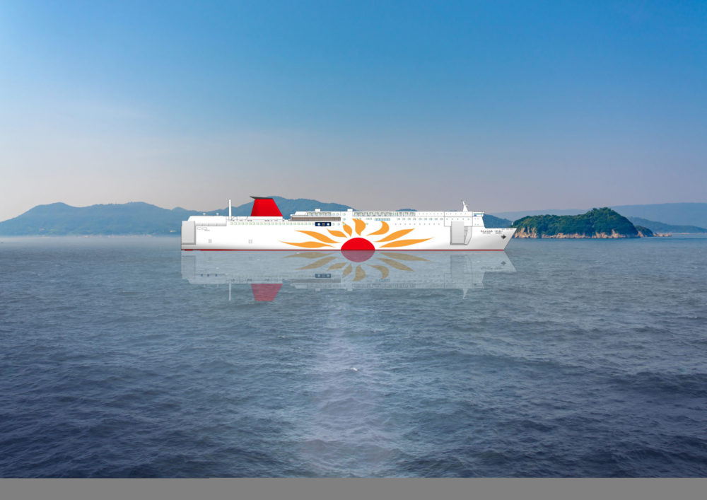Wärtsilä solutions chosen for first Japanese built LNG-fuelled ferries