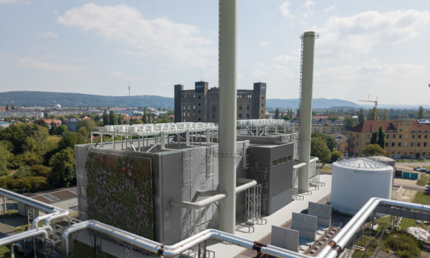 Ground-breaking of flexible 90MW Wärtsilä combined heat and power plant for public utility in Dresden