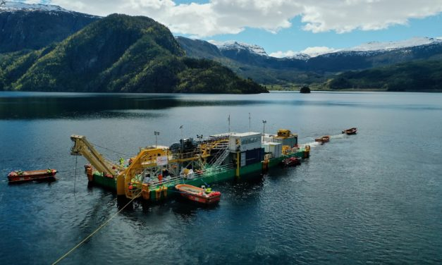 National Grid powers ahead passing halfway mark to lay the world's longest subsea cable