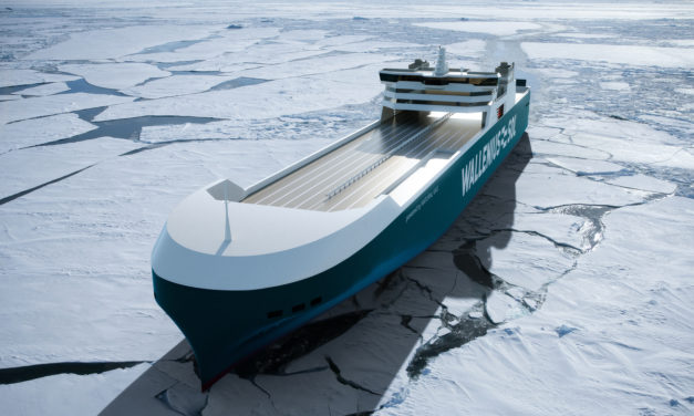 New LNG RoRo vessels reduce greenhouse gases by 63%