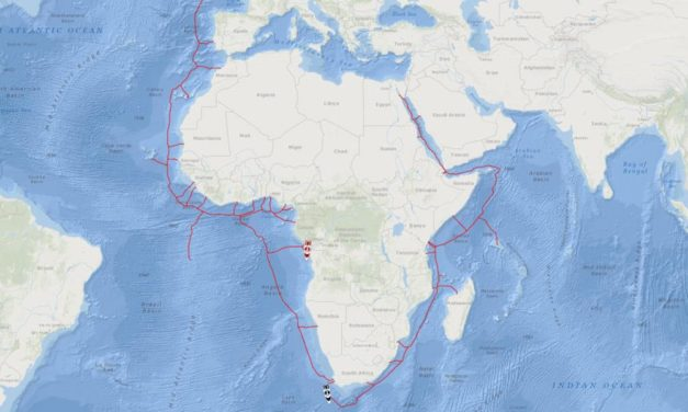 Fugro starts shallow water phase for 2Africa fibre-optic subsea cable project