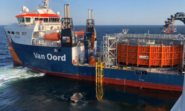 Ørsted and Van Oord successfully install array cables at Borssele I & II offshore wind farm