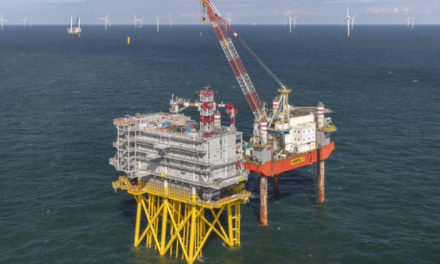 Offshore grid connection Borssele Beta ready to land offshore wind power