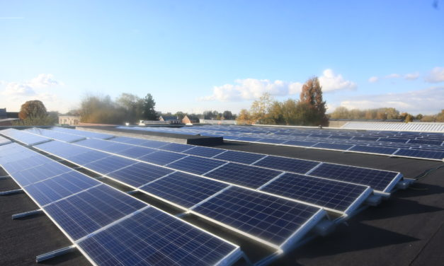 Arvesta equips 17 AVEVE stores with solar panels in collaboration with ENGIE