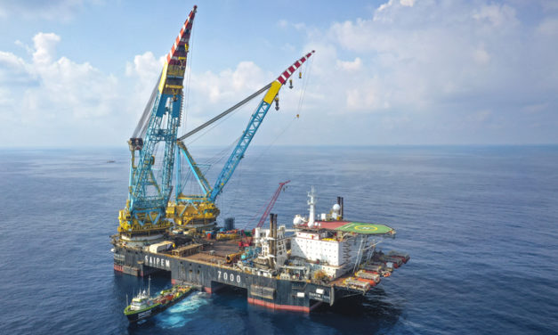 Neart na Gaoithe project enters first phase of offshore construction