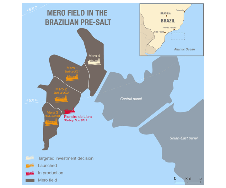 LOC Brazil awarded MWS contract on MERO 1 project