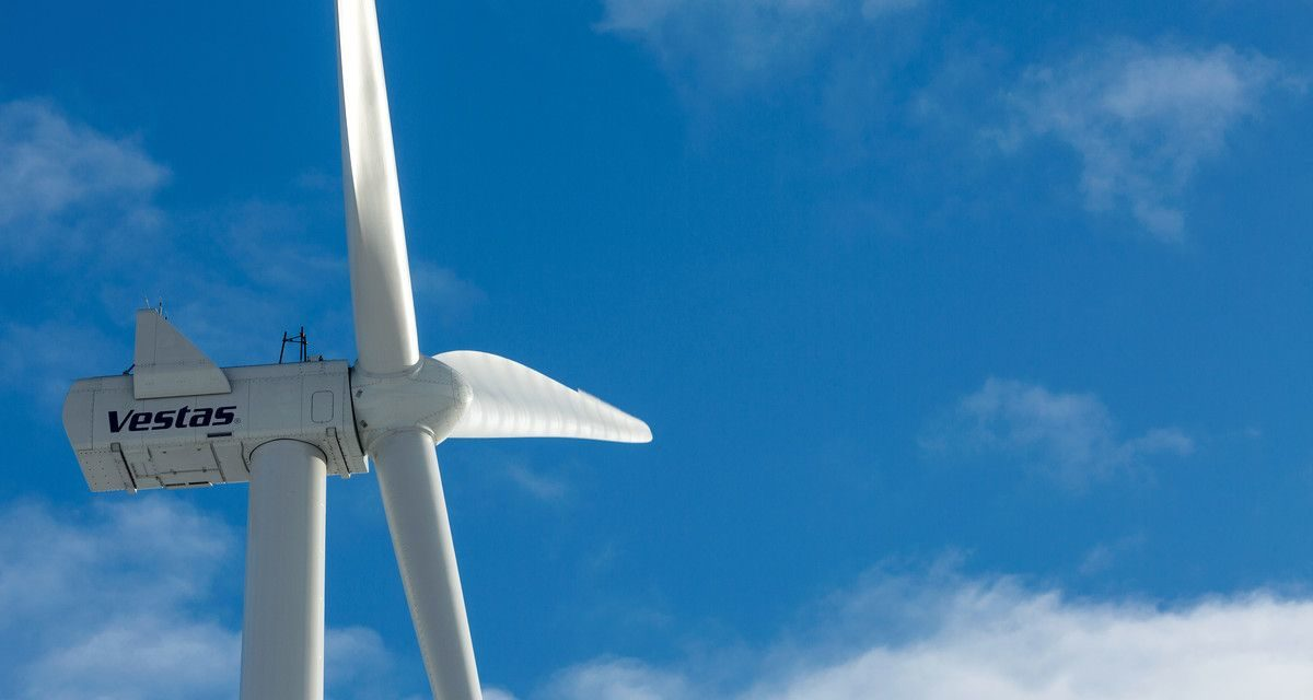 Vestas secures 8 MW order of 60 percent PTC qualifying turbine components in USA