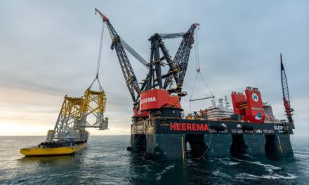Heerema's Sleipnir Completes Hornsea 2 Installation