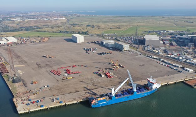 Triton Knoll pre-assembly hub ramps up activity