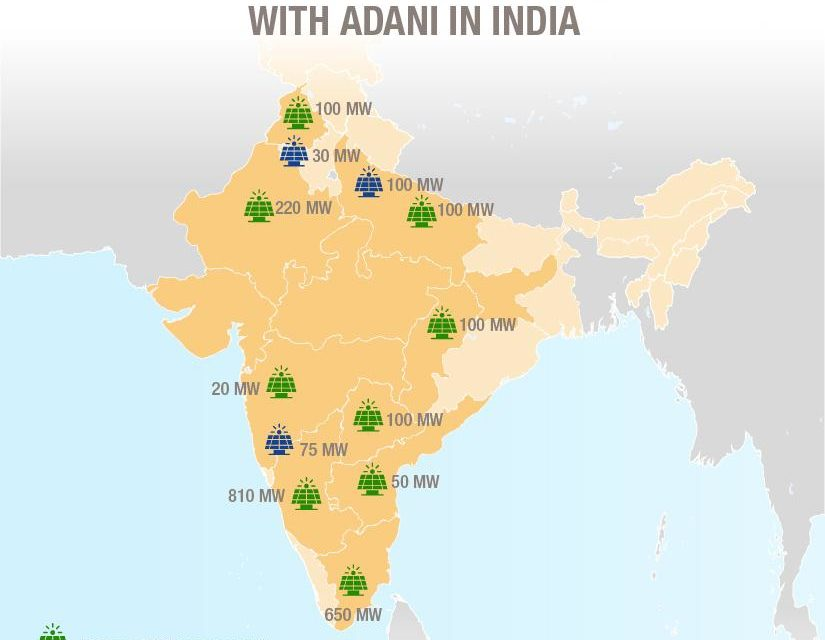 Total strengthens its partnership with Adani in renewable energies