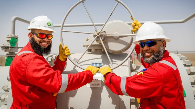 bp starts production from Ghazeer gas field in Oman