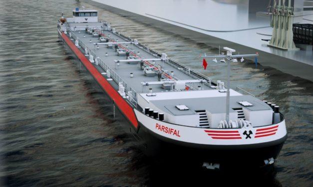 Concordia Damen receives 40 inland waterway barge order