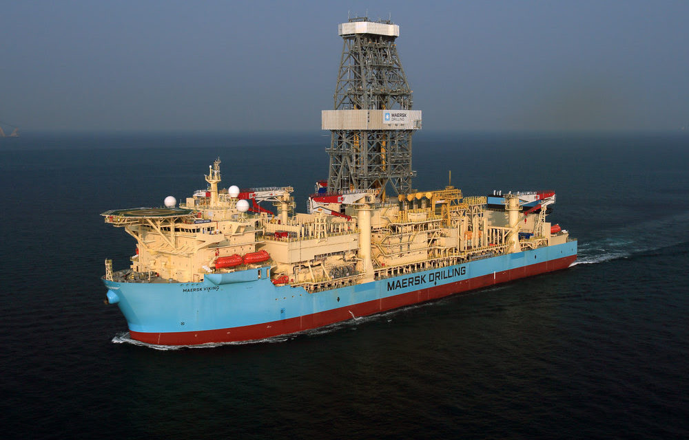Maersk Drilling lands one-well exploration contract for Maersk Viking in Brunei Darussalam